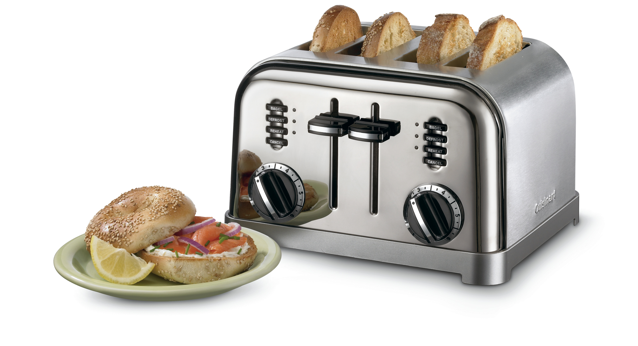 Cuisinart Metal Classic 4 Slice Toaster CPT 180
