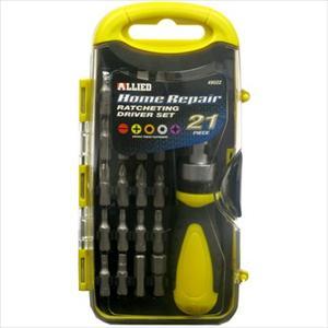 21 pc. Home Repair Ratcheting Driver Set