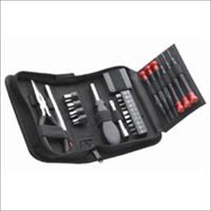 25 pc. Mini Tool Set in Zippered Tri-Fold Case