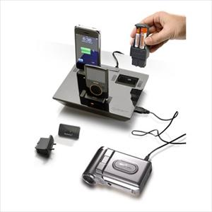 i4 Charging Station w/6 tips - black