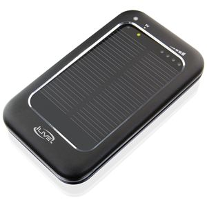 Power Charger w/Solar Panel