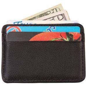 Men's Solid Leather Front Pocket Wallet