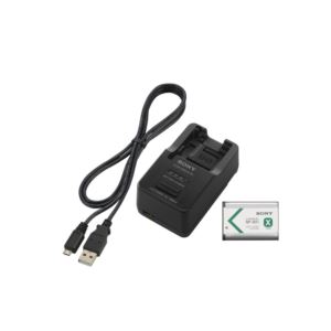 ACC-TRBX Battery charger, battery, and USB cable